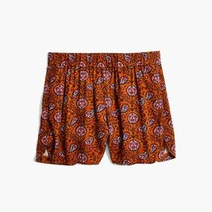 Madewell Pull-on Drapey Medallion Shorts